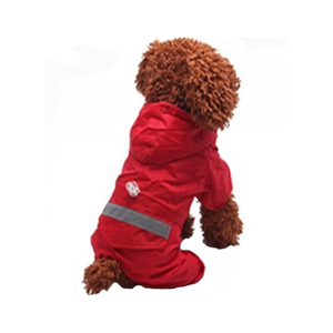 Dog Red Hoodie Raincoat Dog Red Hoodie Raincoat, Pet - Dog - Apparel - Raincoat, Goto Hoodie, Style Advantage - GOTO HOODIE