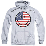 "Smiley ""American Flag Face"" Hoodie  - Adult & Youth - GOTO HOODIE"