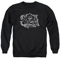 "Sons of Anarchy ""Charming CA"" Hoodie  - Adult & Youth (also in T's & Tanks) - GOTO HOODIE"