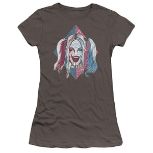 Suicide Squad Harley Quinn Puddin Portrait Suicide Squad Harley Quinn Puddin Portrait, Women - Juniors - Apparel - T Shirt, Trevco, Style Advantage - GOTO HOODIE