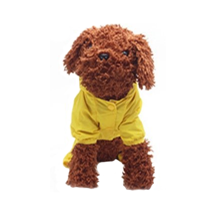 Dog Yellow Hoodie Raincoat Dog Yellow Hoodie Raincoat, Pet - Dog - Apparel - Raincoat, Goto Hoodie, Style Advantage - GOTO HOODIE