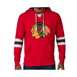 Chicago Blackhawks Pullover Hoodie Chicago Blackhawks Pullover Hoodie, Men - Apparel - Hoodie - Pull Over, Wright and Ditson, GoTo Hoodie - GOTO HOODIE