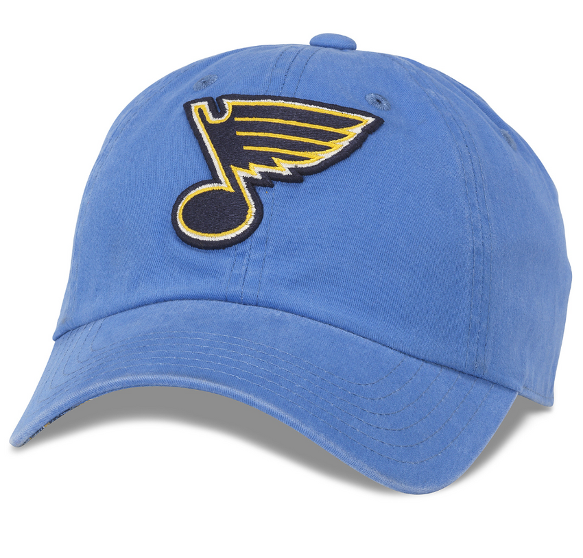 St. Louis Blues New Raglan Hat St. Louis Blues New Raglan Hat, Men/Women - Accessories - Hats, American Needle, Style Advantage - GOTO HOODIE