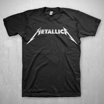 Metallica Classic Black and White Logo Tee Metallica Classic Black and White Logo Tee, Men - Apparel - Shirts - T-Shirts, Bravado, Style Advantage - GOTO HOODIE