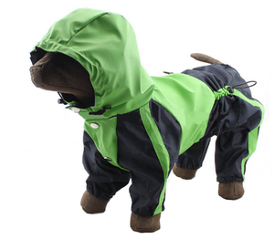 Green Hoodie Raincoat - Large Dogs Green Hoodie Raincoat - Large Dogs, Pet - Dog - Apparel - Raincoat, Goto Hoodie, Style Advantage - GOTO HOODIE