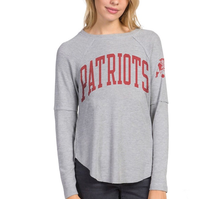 New England Patriots Offside Thermal New England Patriots Offside Thermal, Women - Apparel - Shirts - T-Shirts, Junk Food Clothing, Style Advantage - GOTO HOODIE