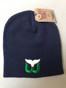 Hartford Whalers Cuff Less Knit