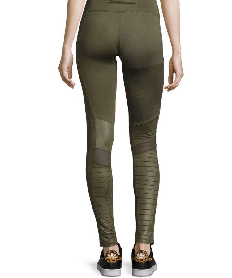 Electric Yoga Motorcycle Olive Green Pants GOTO HOODIE