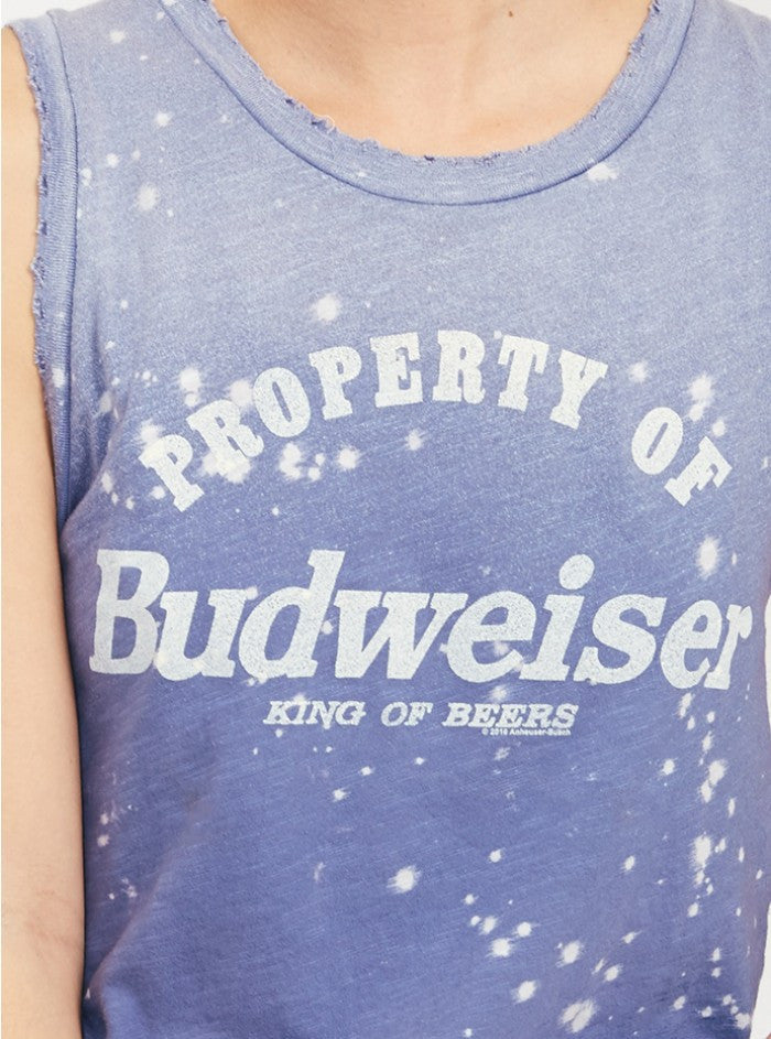 Property of Budweiser Tank Property of Budweiser Tank, Women - Apparel - Shirts - T-Shirts, Junk Food Clothing, Style Advantage - GOTO HOODIE