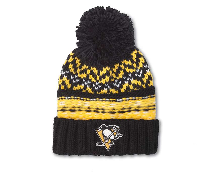 Pittsburgh Penguins Gusto Knit Hat Pittsburgh Penguins Gusto Knit Hat, Men/Women - Accessories - Hats, American Needle, Style Advantage - GOTO HOODIE