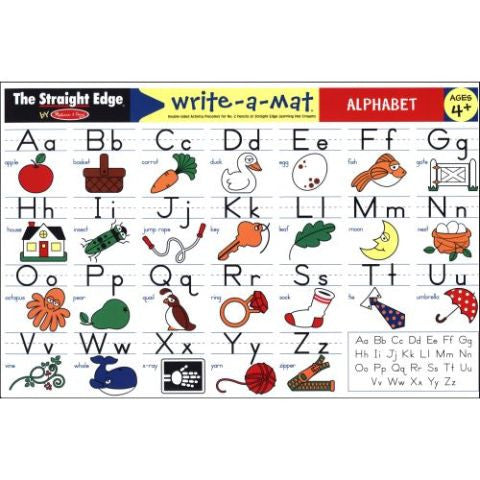 Melissa & Doug Learning Mat: Alphabet