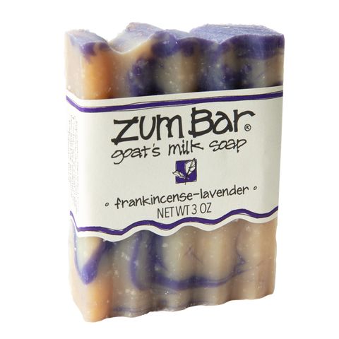 Zum Bar Goat's Milk Soap: Frankincense Lavender