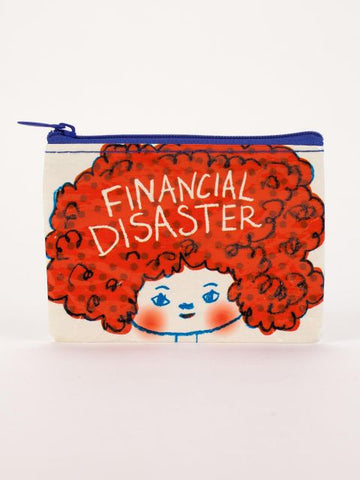 Blue Q Coin Purse: Financial Disaster
