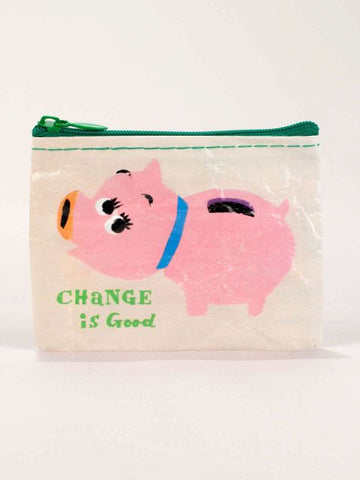 Blue Q Coin Purse: Change Is Good