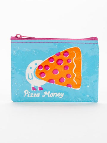 Blue Q Coin Purse: Pizza Money