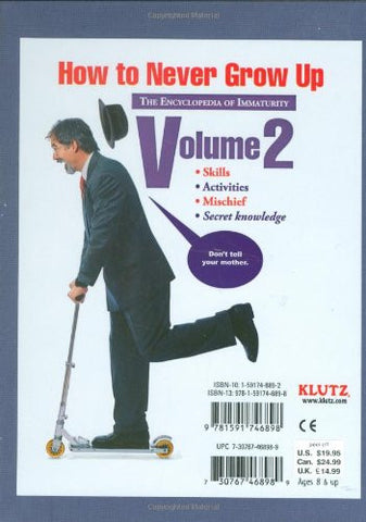 Klutz The Encyclopedia of Immaturity: Volume 2 Book
