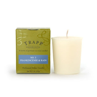 Trapp Votive Candle No. 3 Frankincense & Rain - 2oz.