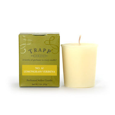 Trapp Votive No. 10 Lemongrass Verbena - 2oz.