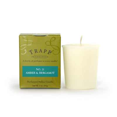Trapp Votive No. 21 Amber & Bergamot - 2oz.