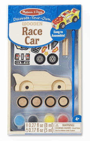 Melissa & Doug Decorate-Your-Own Kit: Race Car