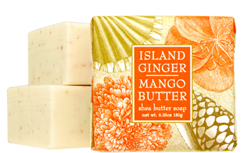 Greenwich Bay Soap: Island Ginger Mango Butter