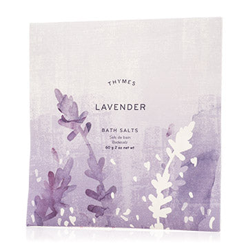 Thymes Bath Salt Envelopes: Lavender