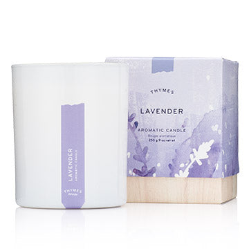 Thymes Aromatic Candle: Lavender