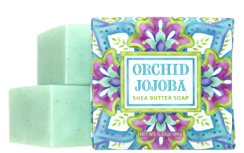 Greenwich Bay Soap: Orchid Jojoba