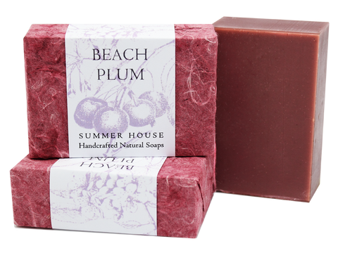 Summer House: Beach Plum Summer House Natural Soap
