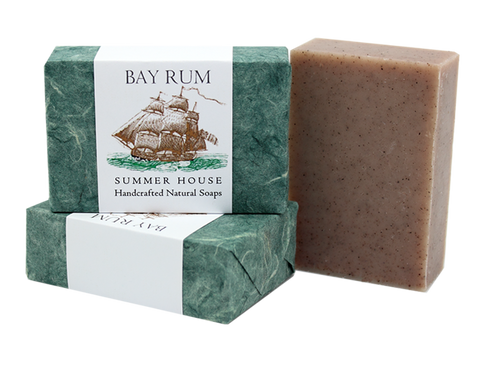 Summer House: Bay Rum Summer House Natural Soap