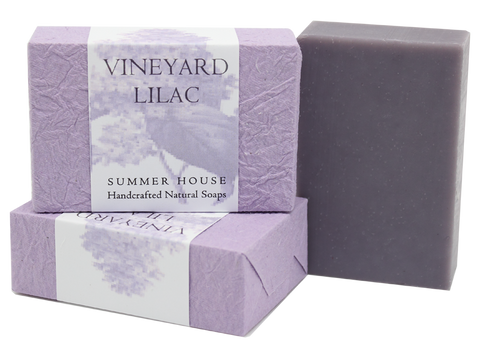Summer House: Vineyard Lilac Summer House Natural Soap