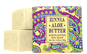 Greenwich Bay Soap: Zinnia Aloe Butter