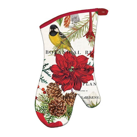 Michel Design Works Oven Mitt: Merry & Bright