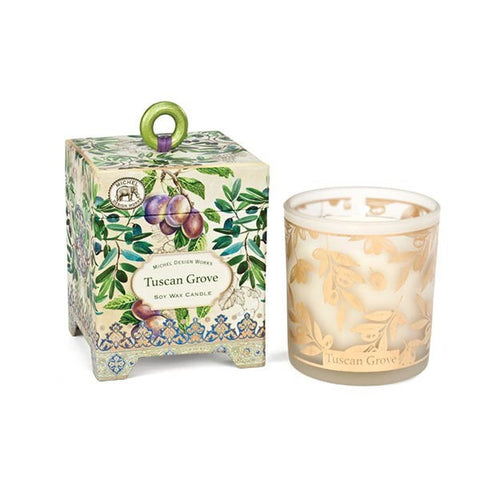 Michel Design Works Soy Candle: Tuscan Grove