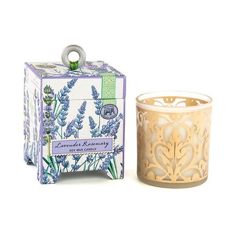Michel Design Works Soy Candle: Lavender Rosemary