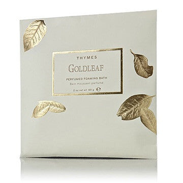 Thymes Perfumed Foaming Bath: Gold Leaf