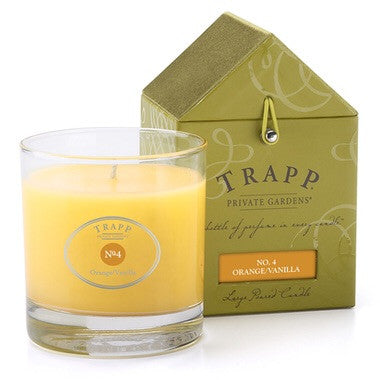 Trapp Candles NO. 4 TRAPP CANDLE ORANGE VANILLA - 7OZ. POURED CANDLE