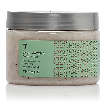 Thymes Body Scrub: Jade Macha