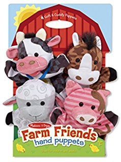 Melissa & Doug Hand Puppets: Farm Friends