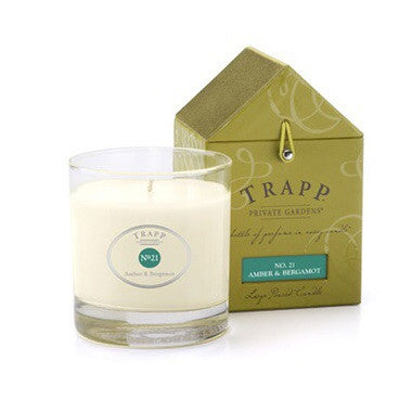 Trapp Signature Home Collection - No. 21 Amber & Bergamot