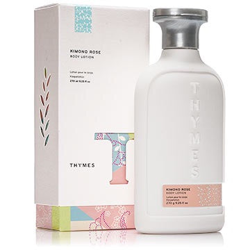 Thymes Perfumed Body Lotion: Kimono Rose
