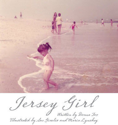 Jersey Girl Hard Cover Book