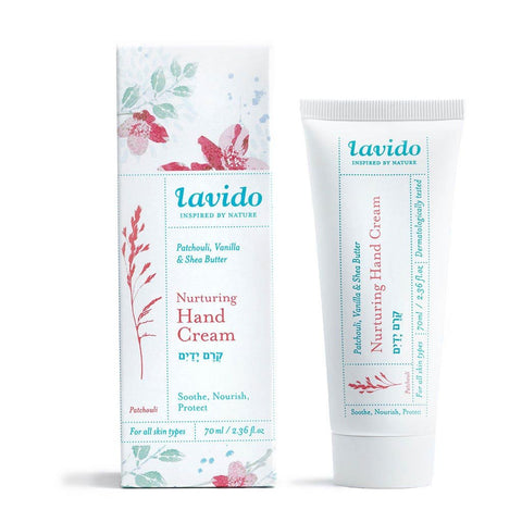 Lavido Nuturing Hand Creme: Patchouli, Vanilla & Shea Butter