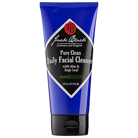 Jack Black Pure Clean Daily Facial Cleanser 6oz.