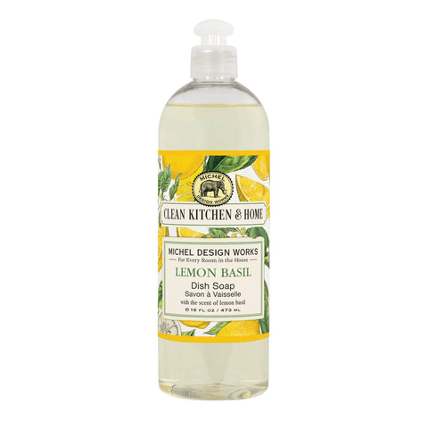 Michel Design Works Dish Soap: Lemon Basil