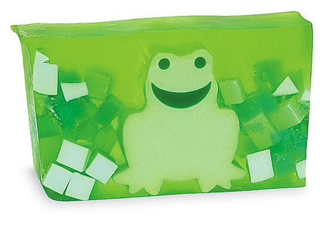 Primal Elements Handmade Soap: Green Frog