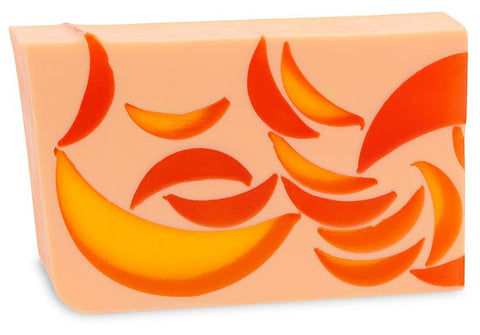 Primal Elements Handmade Soap: Orange Cantaloupe