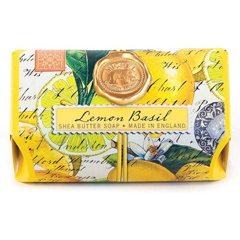 Michel Design Works Bath Soap: Lemon Basil