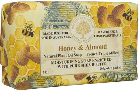 Wavertree & London Australia Moisturizing Soap: Honey & Almond