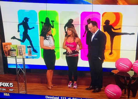 EatSmart Precision GetFit Digital Body Fat Scale Featured on Fox5 News DC